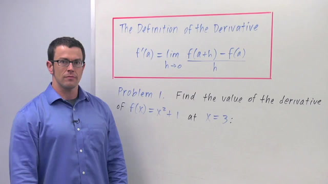 The Definition of the Derivative - Problem 1