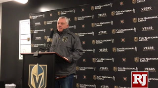 Mike Kelly talks about Golden Knights injuries