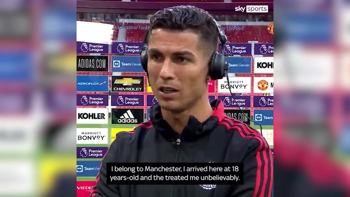 'I belong to Manchester': Cristiano Ronaldo on Premier League return