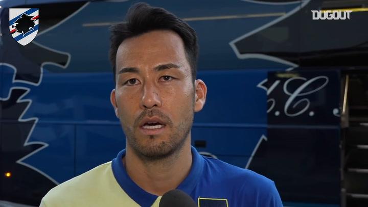 Yoshida thankful for Serie A experience with Sampdoria