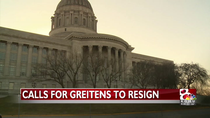 More calls for Greitens to resign