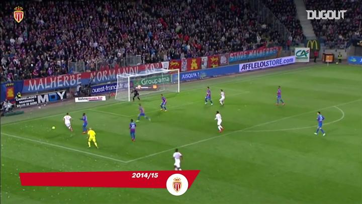 Cinco golaços de Anthony Martial pelo Monaco