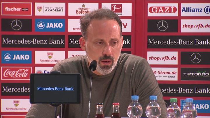 "Matarazzo: Stuttgart auf ""Augenhöhe"" mit BVB"