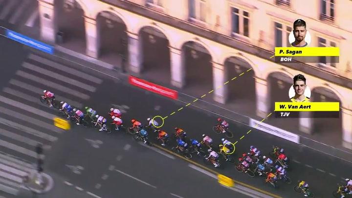 Sam Bennett se impone en el último sprint del Tour de Francia 2020