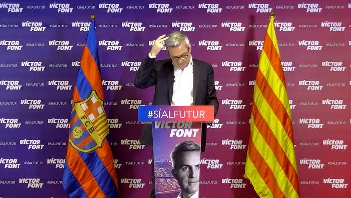 """Víctor Font: """"Se puede fichar ya a Eric Garcia sin pagar nada ahora"""""""