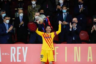 Así fue la celebración del Barcelona tras coronarse de la Copa del Rey 2021