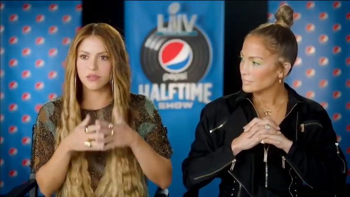 Presentación de Jennifer Lopez y Shakira como artistas de la Super Bowl 2020