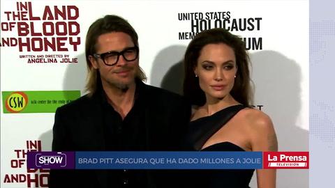 Show, resumen del 8-8-2018. Brad Pitt asegura que ha dado millones a Jolie