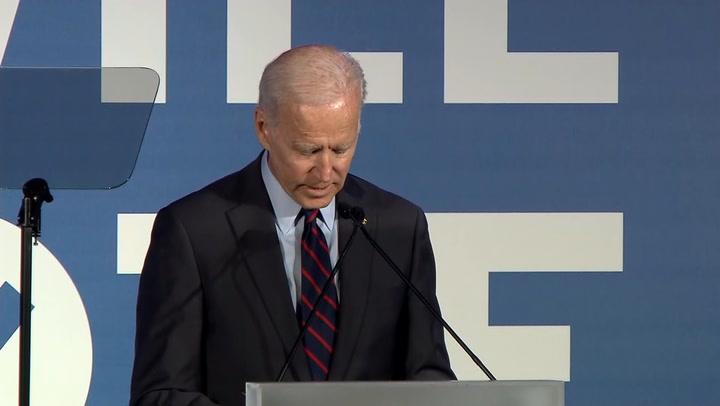 Is Biden the Democratic front-runner by default?