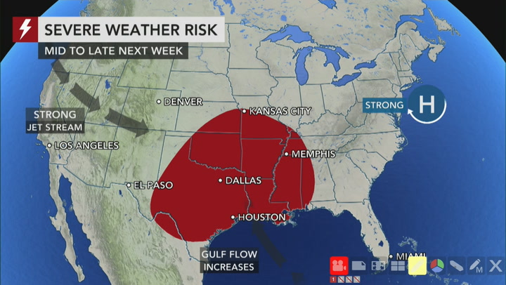 Early signs pointing to big severe weather risk