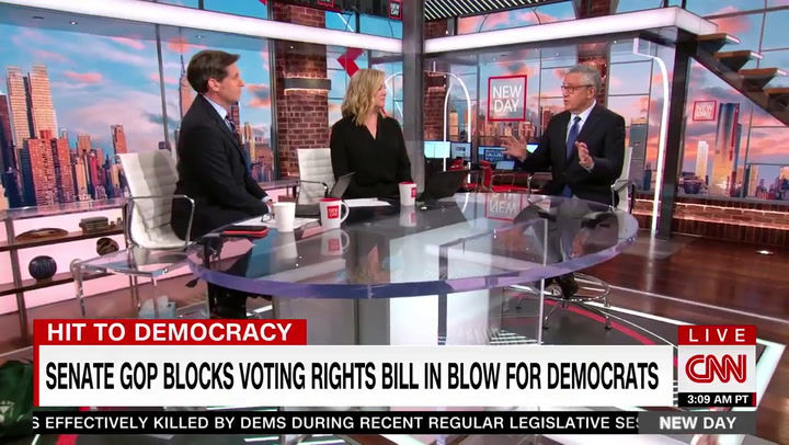 Toobin: Voting Rights Expansion 'Life or Death for the Democracy' -- This Is 'an Existential Crisis for United States'