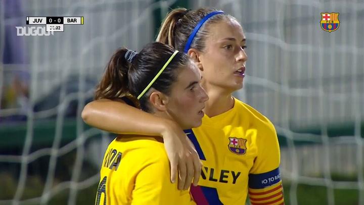 All FC Barcelona Women's 2019 Champions League Goals