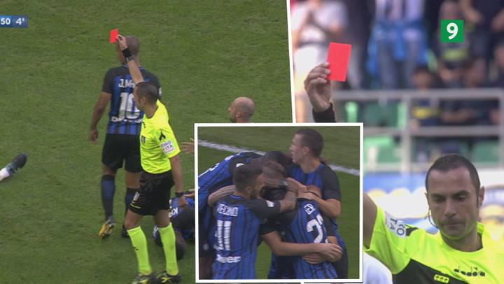 Highlights: Genoa tabte fuldstændig hovedet i Inter-opgør