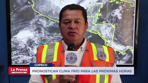 Noticiero LA PRENSA Televisión, edición completa del 10-12-2018. Pronostican clima frío para las próximas horas