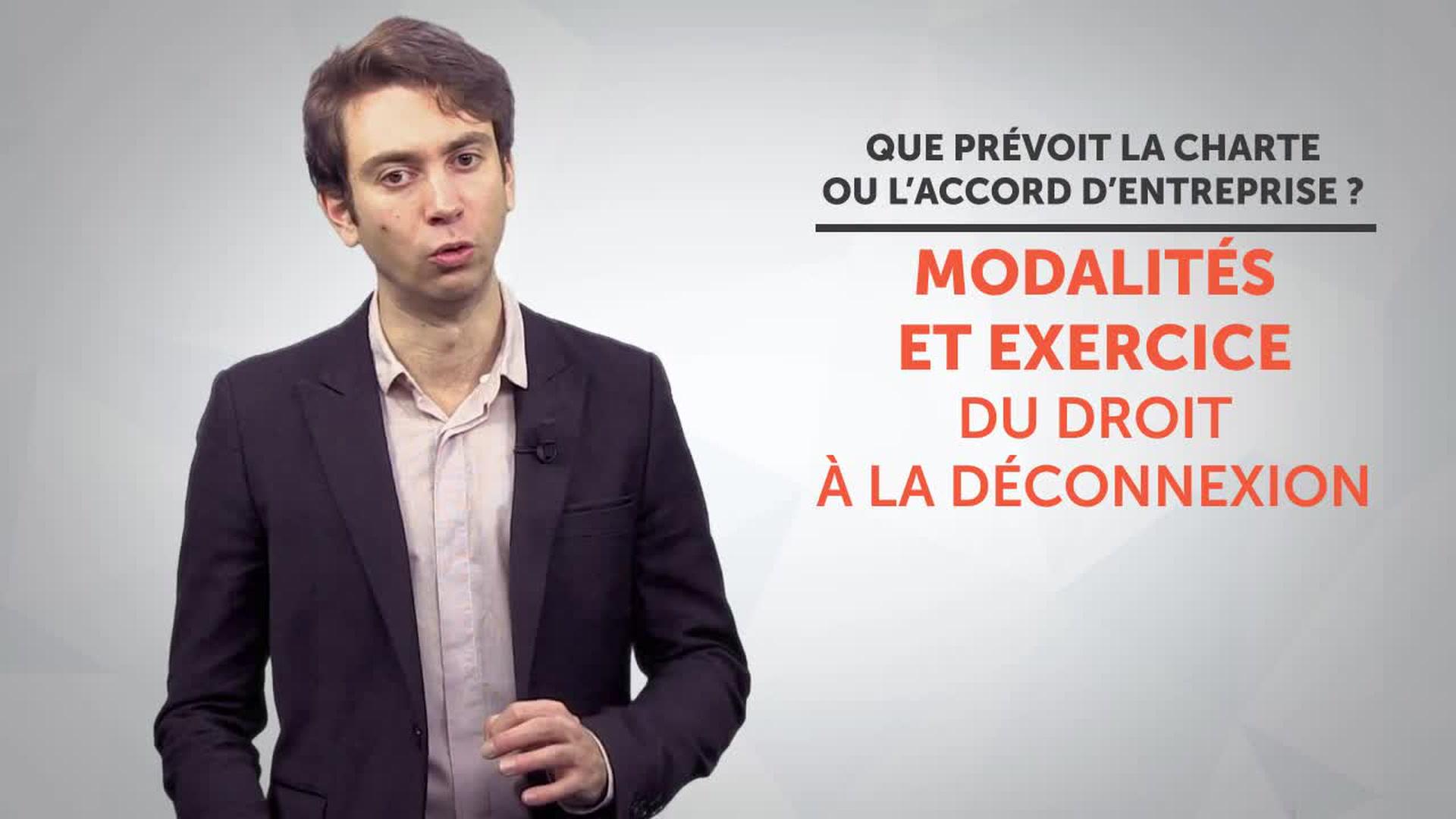 Droit A La Deconnexion Definition Loi Exemple