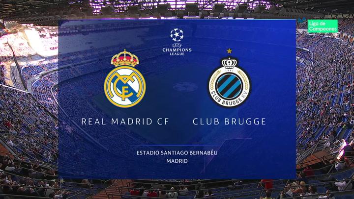 Champions League: Resumen y Goles del Partido Real Madrid - Brujas