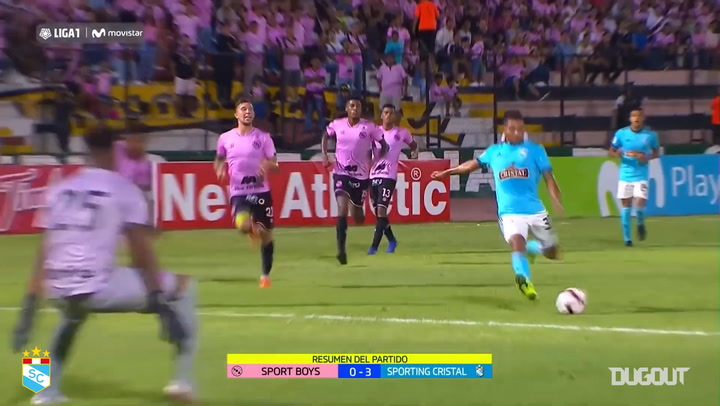 Sporting Cristal's best goals vs Sport Boys