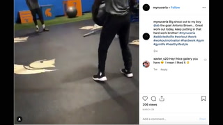 NFL Star Antonio Brown Appears in Workout Video Alongside Rep From Biogenesis-Tied Clinic