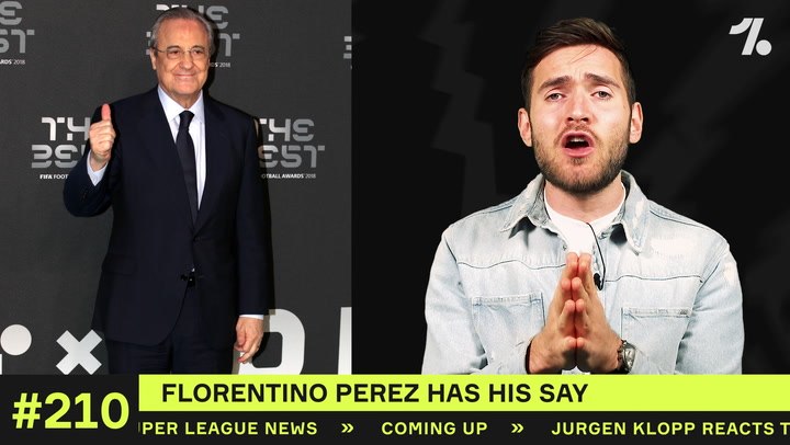 Perez discusses the Super League, Ronaldo AND Zidane