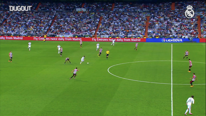 Team Goals: Karim Benzema Vs Athletic Bilbao