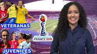 Jugadoras veteranas y juveniles que estarán en el mundial femenino #ElMundialConEmma
