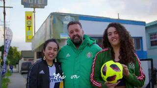Imaginémonos cosas chingonas, el video de presentación de Chicharito Hernández con el Galaxy