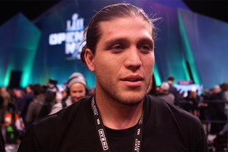 UFC's Brian Ortega takes in Super Bowl experience