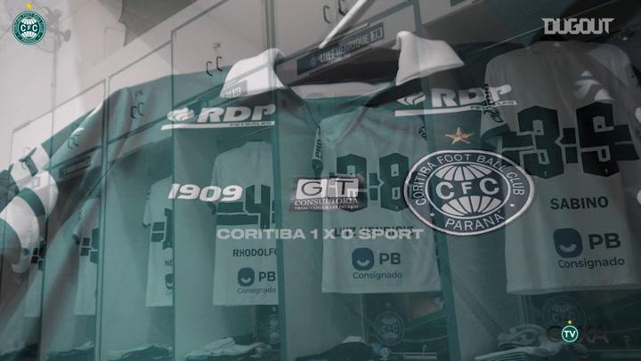 Behind the scenes of Coritiba's win vs Sport Recife