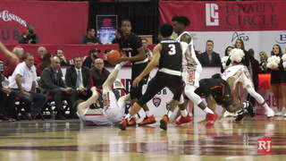 UNLV unsuccessful after 11 days off, fall to Pacific 74-66 – Video