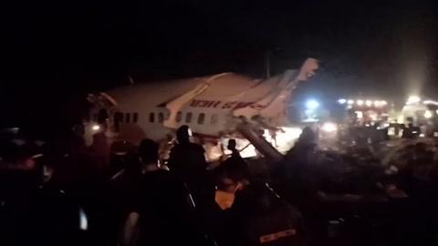 Accidente de avión en India deja más de una decena de muertos
