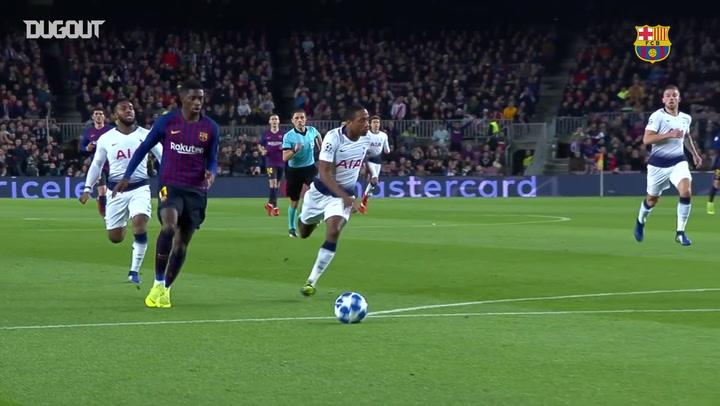 Highlights: Ousmane Dembélé Scores In Barça's Draw With Spurs