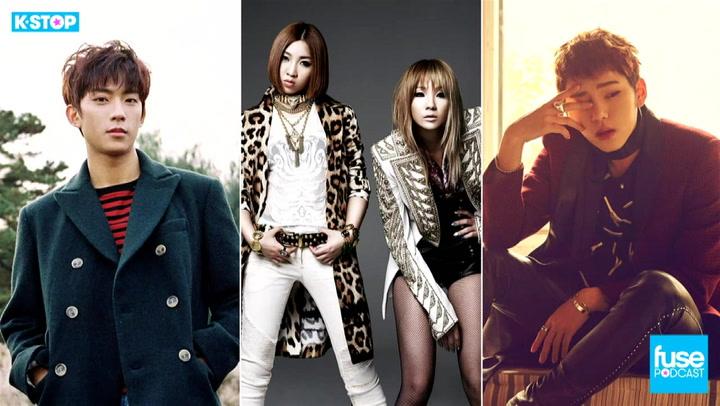 Zico, Crush, Dean, B1A4, San E, 2NE1 Disbands: K Stop