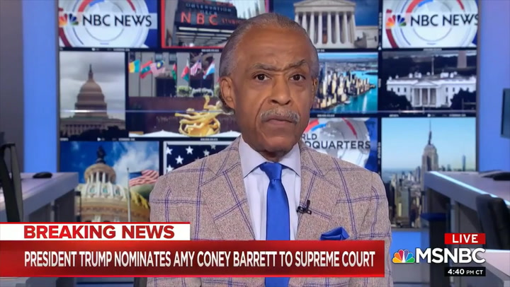 Sharpton: 'I Was Glad' Barrett's Children Came Out for Ceremony 'Because I Couldn't Find Too Many Other People of Color' in Audience