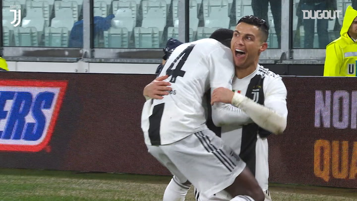 Cristiano Ronaldo scores double against Parma