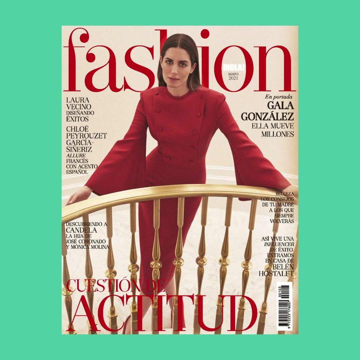 FASHION mayo, con Gala González en portada