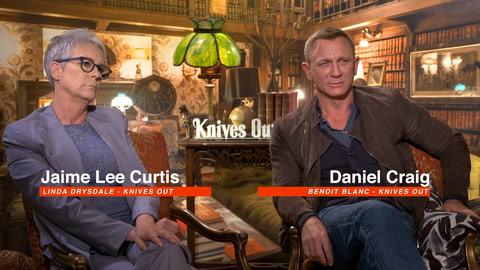 Jamie Lee Curtis & Daniel Craig on why LGBTQ folk love their iconic characters and 'Knives out'
