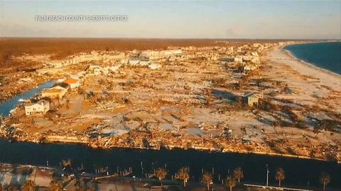 Huracán Michael dejó desolación y al menos 30 muertos en EEUU