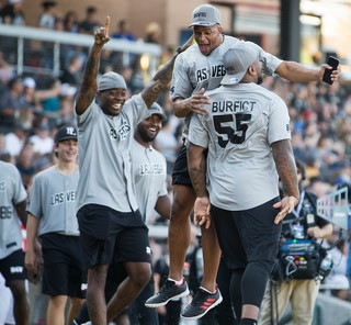 Golden Knights, Raiders Unite for Charity Softball Game – Video Highlights