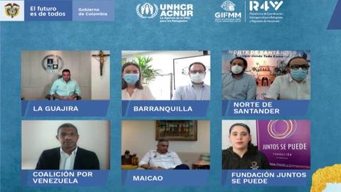 Acnur pide regularizar millones de migrantes venezolanos en América Latina