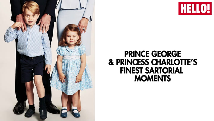 Prince George And Princess Charlotte\'s Finest Sartorial Moments