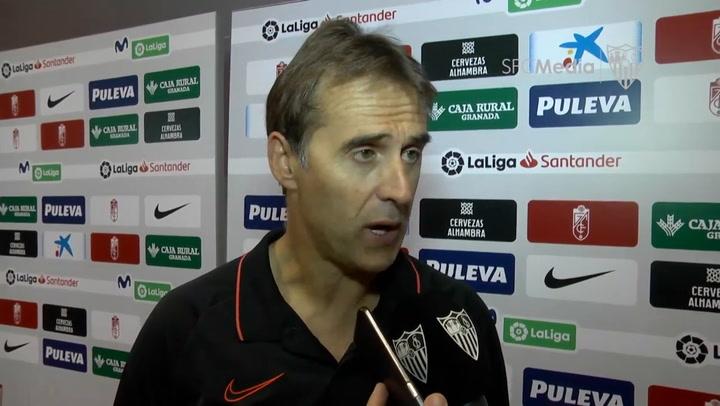 """Lopetegui: """"Cada partido ganado es una conquista"""""""
