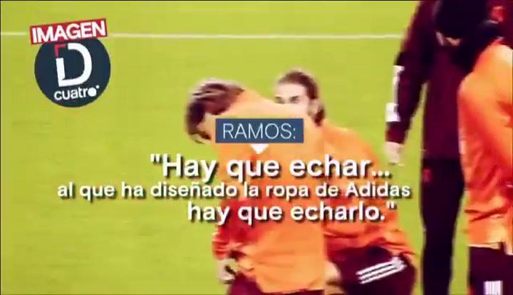 """La 'pillada' a Sergio Ramos: """"Hay que echarlo"""""""