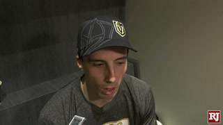 Golden Knights React To Loss Against Oilers