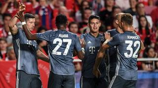 Bayern Munich consigue su primer victoria en Champions sin problemas ante Benfica