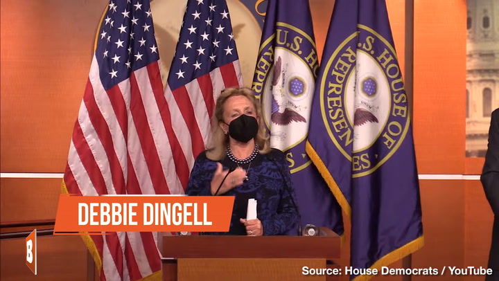 Democrat Debbie Dingell Goes on Shouting Tirade at Press Conference:
