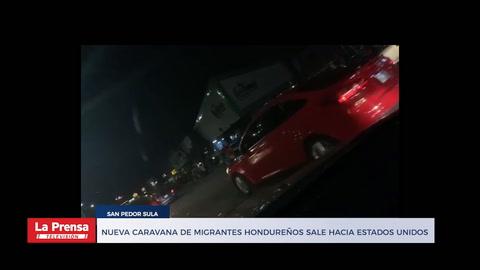 Nueva caravana de migrantes hondureños sale hacia Estados Unidos