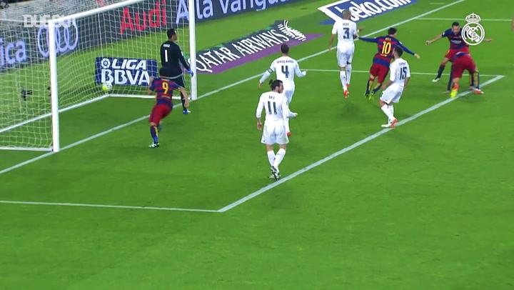 أول كلاسيكو لزيدان مع ريال مدريد