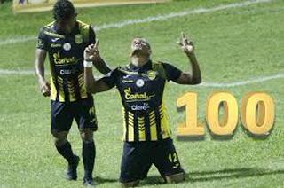 Centenario: Rony Martínez ya es el tercer jugador activo que supera los 100 goles en Liga Nacional