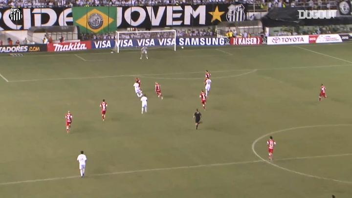 Neymar destroza al Sport Club Internacional