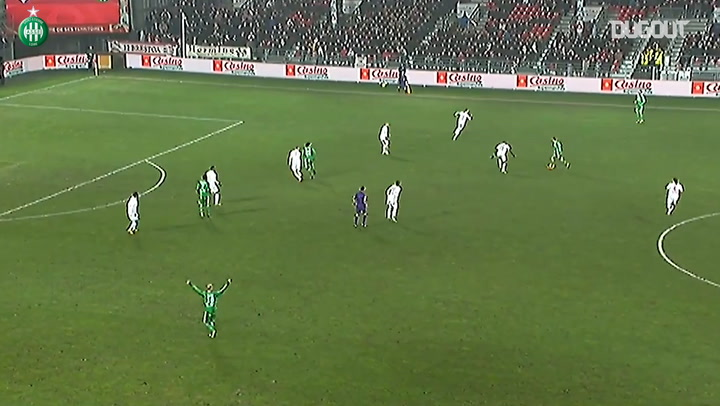 Brandao snatches the victory for Saint-Etienne at Brest